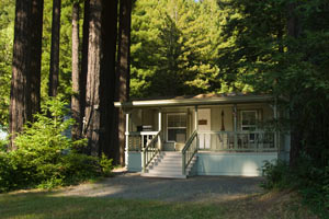 Housekeeping Cabins in the Redwoods